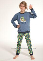 Новое поступление детских пижам на мальчиков фирмы cornette 2019 года