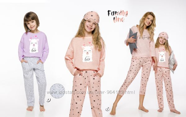 Детские и подростковые пижамы, коллекция 2020 года