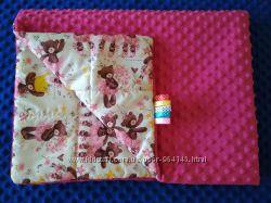 Одеяло - плед из плюша Minki