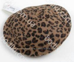 шерстяной Леопардовый беретик next 6-12 мес