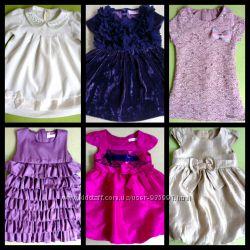 Шикарные платья часть 2 Mothercare bluezoo baby name it next lilax белое
