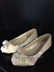 437a2f20 Шикарные балетки туфли monsoon 15 см стелька 724 р. Цветы стразы розы