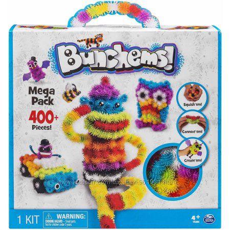 Оригинал Bunchems Банчемс Mega Pack 400