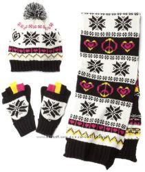 Набір шапка шарф рукавички