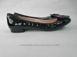 Балетки туфли 37, 5 бренд PRADA кожа оригинал