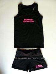 майки. шорты. футболки. Художественная гимнастика.