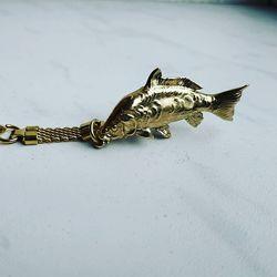 Брелок рыба Карп, седьмая годовщина