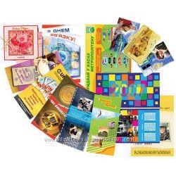 Печать полиграфии листовки, визитки, буклеты, афиши, плакаты