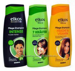 Шампунь для волос Elkos , 3 вида , Германия