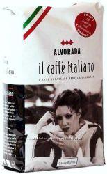 Кофе в зернах Альворадо IL Caffe Italiano, 1 кг , 100 Арабика