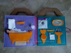 Фетровый домик-книжка под заказ