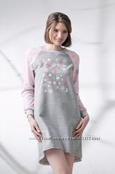 утепленная ночная рубашка Ellen