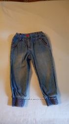 Летние джинсики алладинки. На 2-3 года