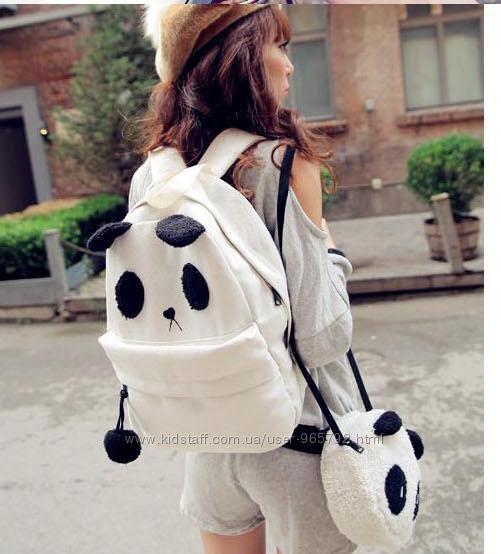 Рюкзак панда с сумочкой