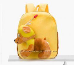 Детский рюкзак с игрушкой Щенячий Патруль Paw Patrol