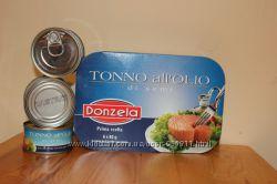 Тунец консервированный в масле из Италии