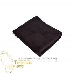 Полотенце коричневое махровое