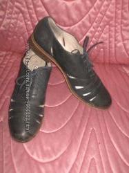 Туфли кожаные дышащие Clarks