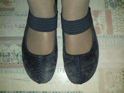 Мокасины-балетки кожаные Clarks Active Air 24. 2 см