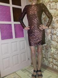 Платье вечернее новое H&M рост 165 см
