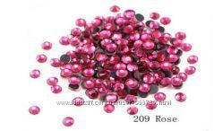Стразы премиум ss16 и ss20  фуксия, красные, черн, розовые по 144, по 288 ш