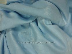 Ткань шторная софт, ткань светло-голубая 2, 47 на 2, 08. Цена за кусок.