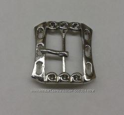 Пряжка металлическая прямоугольная для пояса 19 мм  ширина пряжки 29 мм