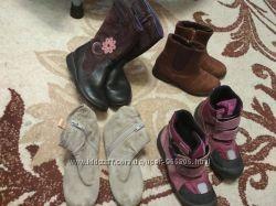 Прекрасная весенняя обувь для девочки