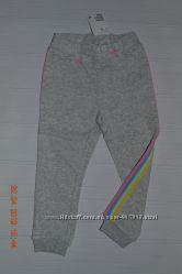 Нові тонкі спортивні штани H&M з кольоровими лампасами розм. 2-3 р. 98 в на