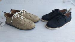 Нові туфлі броги h&m розм. з 28 по 33 в наявності