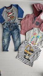 Пакет одягу Next, H&M для хлопчика 1,5-2 р. в гарному стані