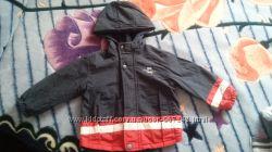 куртка на мальчика двусторонняя