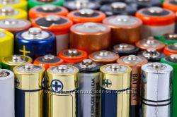 Батарейки и аккумуляторы всех типов и производителей по низким ценам