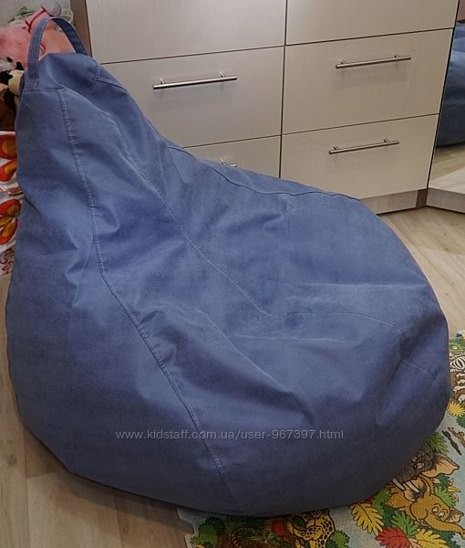 Мягкое и комфортное Кресло груша для детей и взрослых