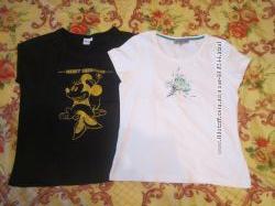 Фирменные футболки р. М, L