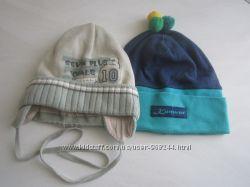 Польские шапочки деми на мальчика  44-46