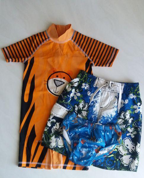 Пляжная одежда на мальчика 2-4г