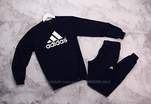 Костюм свитшот штаны Adidas