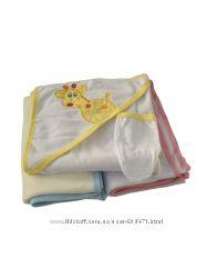 Продам  детские махровые полотенца с уголком для купания