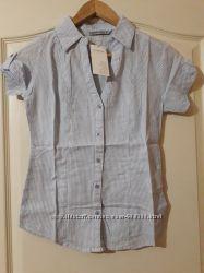 Хлопковая рубашка Terranova Размер S