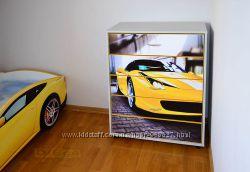 Комод Ferrari 458 Italia 5 ящиков для детской тм Diego