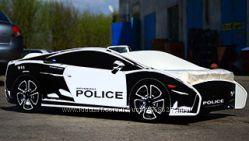 Кровать-машина Police из МДФ