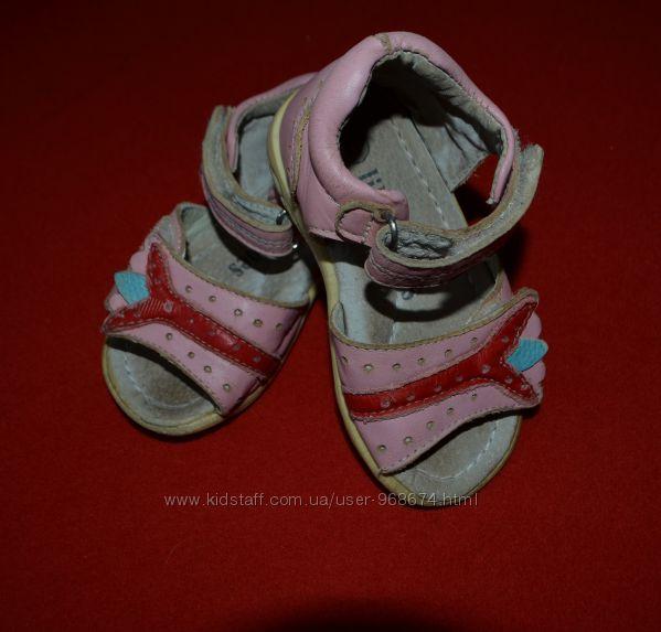 Детские ортопедические босоножки 21 размера Lilin Shoes