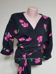 Стильная яркая блуза кимоно от ZARA basic