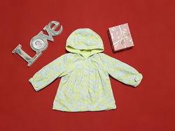 Стильная детская ветровка курточка от nutmeg 9-12 мес