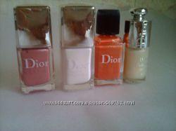 лаки для ногтей Christian Dior Новые Лоты