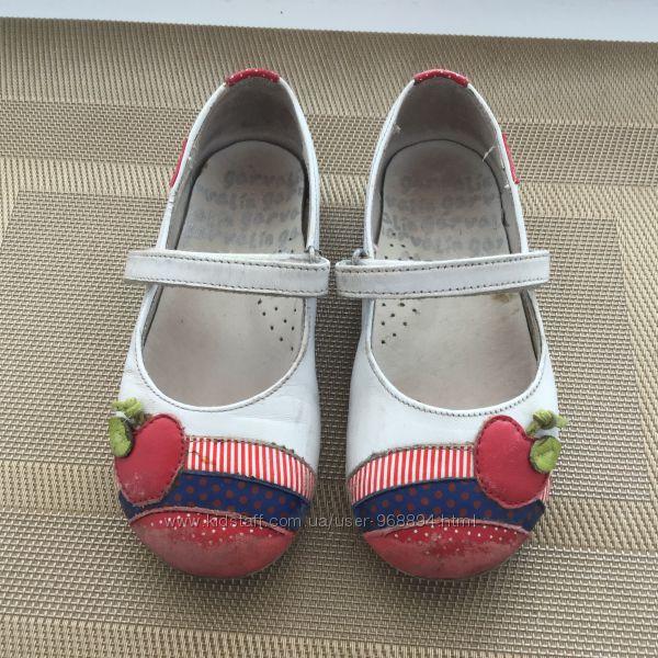 Туфли, балетки летние garvalin, размер 25 натуральная кожа снаружи и внутри