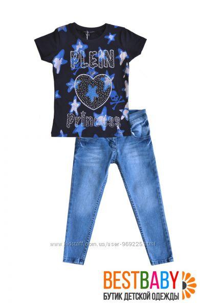 Красивые футболки для девочки. СКИДКА 40 ПРОЦЕНТОВ