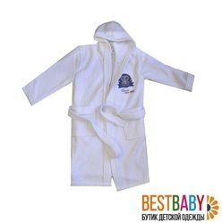Детские махровые халаты Bebetto для девочек и мальчиков
