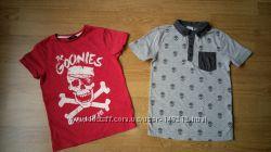 футболки на 5-7 лет  George и F&F